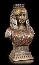 Kleopatra Figur Büste bronziert - Veronese ägyptische Königin Deko Statue