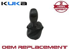 Gear Shift Knob With Gaiter 6 Speed Pu Leather Fits For Mercedes C-Class W203