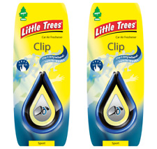 2 x Clip SPECCHIO PICCOLO Magic Tree Deodorante Auto Sport Car MC18