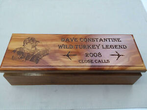 Turkey Call Close Calls Set Dave Constantine  Turkey Legend Hand Signed 2008