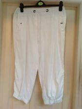 George Viscose Capri, Cropped Trousers for Women