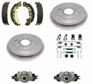 Brake kit fits Civic 2006-2015 DX & LX shoes drums wheel cylinders springs