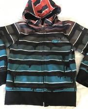 Boys Size S 8 Nike 6.0 Zip Up Hoodie Jacket #630