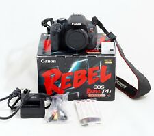 Canon EOS Rebel T4i / 650D 18.0MP Digital SLR Camera Body ONLY 10k SHUTTER COUNT