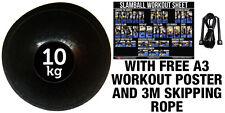 FXR SPORTS 10KG NO BOUNCE SLAM BALL CROSSFIT MMA FITNESS STRENGTH TRAINING