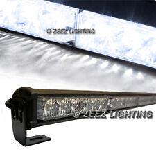 White 36 LED Traffic Advisor Emergency Strobe Beacon Flash Warning Light Bar C08