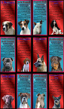 Novelty Dog Signs Property Rules Various Breeds Set A