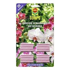 Compo Concime in Bastoncini per Orchidee, 20pz - NUTRIMENTO costante x 3 MESI.