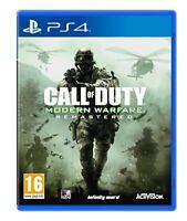 COD Modern Warfare Remastered PS4