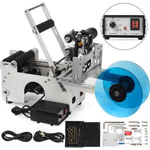 LT-50D Machine d'étiquetage Semi Automatique Etiqueteuse Bouteille 15-120 mm