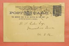 1904 Nsw Australia Postal Card Sydney To Usa