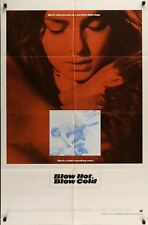BLOW HOT BLOW COLD one sheet movie poster 27x41 GIULIANO GEMMA BIBI ANDERSSON NM