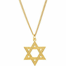 Star of David Necklace In 24K Gold Plated