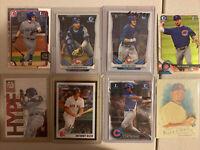 8x Chicago Cubs Rookie Card Lot Bowman Chrome Rizzo Happ Bryant Baez Hoerner