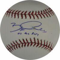 Bobby Crosby Hand Signed Autographed Major League Baseball  04 AL ROY W/COA