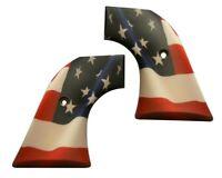 American Flag USA Custom Ruger Revolver Grips Vaquero Blackhawk Wrangler