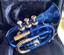 Taschentrompete Roy Benson PT-101B Blau lackiert