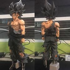 Dragon Ball Z Super Saiya The Son Goku Gokou Large Size 34cm PVC Figure Comics