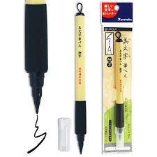 Japanese Kuretake Bimoji Fine Felt Tip Calligraphy Manga Brush Pen, Made Japan