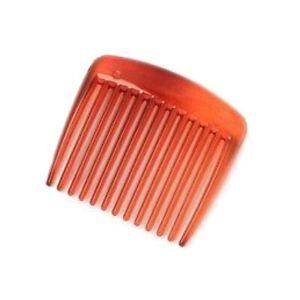 Small Plastic Side Hair Comb Slide 4.5cm - Black / Tort - Hair Accessories