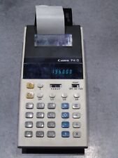 Calculatrice ancienne CANON P4-D World cup 1982 football