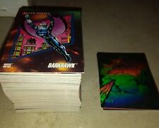 Marvel Universe series 3 cards 157 cards with hologram chase cards