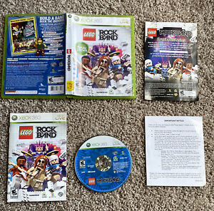 LEGO Rock Band - Xbox 360 Game - 100% Complete & Tested Rare Clean