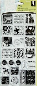 Inkadinkado 98780 SPECIAL THOUGHTS with sentiments - 23 Clear Stamps