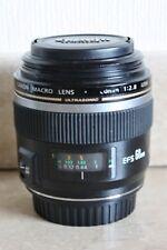 Canon EF-S 60mm f/2.8 MACRO USM Lens - Prime Lens for DSLR - # 2824