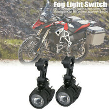 Pair Spot LED Auxiliary Fog Light Driving Lamp Motorcycle For BMW R1200GS F800GS