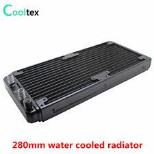 280mm  PC Water Cooling Radiator  Aluminum Heat Exchanger For Computer GPU CPU