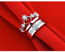 S925 silver jewelry ring, Korean fashion jewelry lover, live male cross