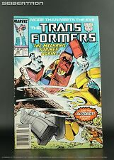 Marvel US Transformers #28 May 1987 Comic Book G1 Mechanic vs Blaster + Goldbug