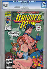 Wonder Man #2 CGC 9.8 1991 Counterpart of Wonder Woman with Jeff Johnson Cover