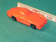 MERCEDES 300 SL  RUBBERCAR ORIGINAL TOMTE LAERDAL 50 YEAR´S OLD