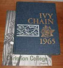 Christian College 1965 Yearbook (Ivy Chain), Columbia Missouri