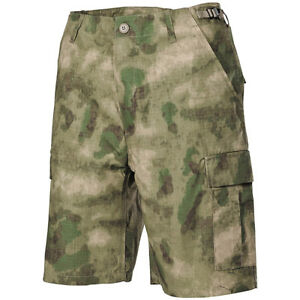 MFH Bermuda Pantaloncini uomo militari Tasconi Cargo US BDU Shorts Black