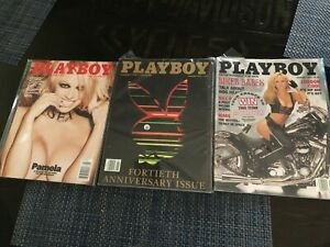 PLAYBOY MAGAZINES FROM 1994 - 2016 VARIOUS MONTHS NR-MT($5.00 Each)