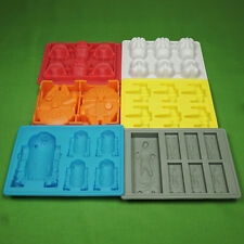 Silicone Star Wars Mould ice tray Set of 6, Same day Dispatch courier delivery