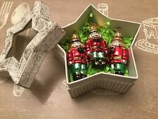 3 DISCOVERY STORE Christmas Ornaments in cute box !!!