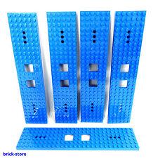 LEGO®  Nr- 6058179 / 6x28 Eisenbahn Waggon Platte blau  / 5 Stück