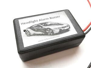 Universal Mini Car Headlight On Buzzer Alarm Reminder Kit Save your car Battery