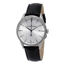 Alexander A911-02 Heroic Sophisticate Swiss Ronda 715 Date Leather Mens Watch