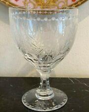 William Yeoward Fern Water Goblet Glass