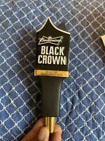 """Budweiser Black Crown Golden Amber Lager Beer Tap Handle 11"""" Tall New in box"""