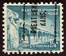 Great Bend, Kansas Precancel, 1.25 cents Palace of the Governors U.S. #1031A, KS