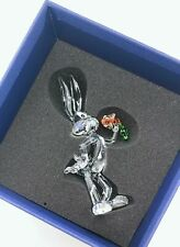Nueva marca de cristal de Swarovski estatuilla Bugs Bunny Looney Tunes