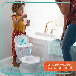 Summer My Size Potty Lights n Songs Transitions, White Realistic Potty Training