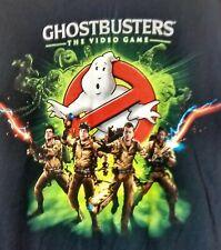 Ghostbusters Video Game Graphic Mens T Shirt Movie XBox Gildan Black Size XL Tee
