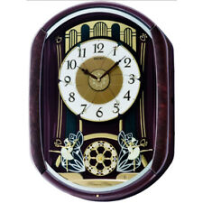 Seiko Wall Clock Melody in Motion 12 Melodies & 14 LED Lights 52.8x38.9x11.9cm